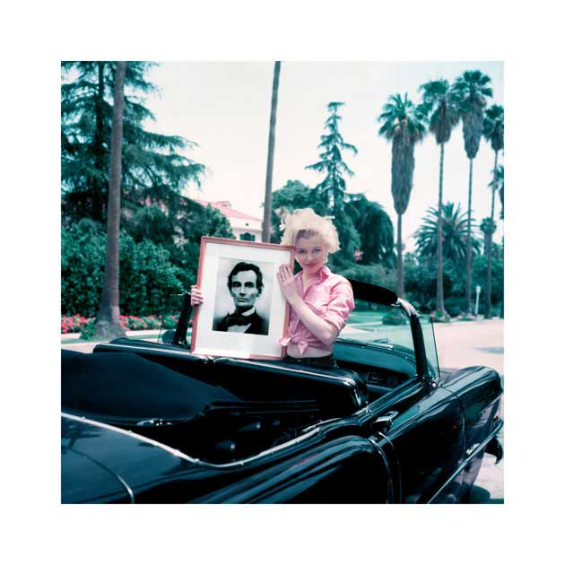 Marilyn Monroe Milton Greene Abraham Lincoln Cadillac 1954 Hollywood